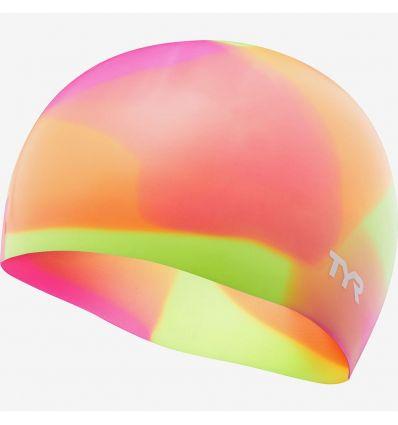 Шапочка подростковая TYR Tie Dye Junior Swim Cap