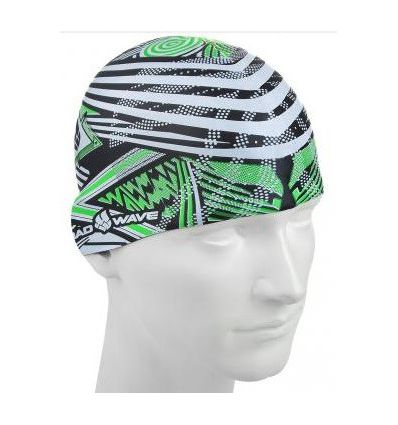 Mad Wave Шапочка Silicone Printed STRIPES