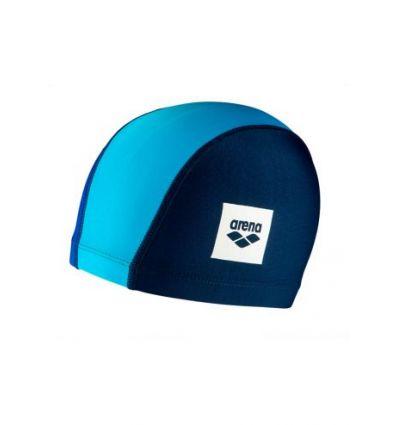 Шапочка для плавания детская Arena Unix II Junior, темно-синий, голубой