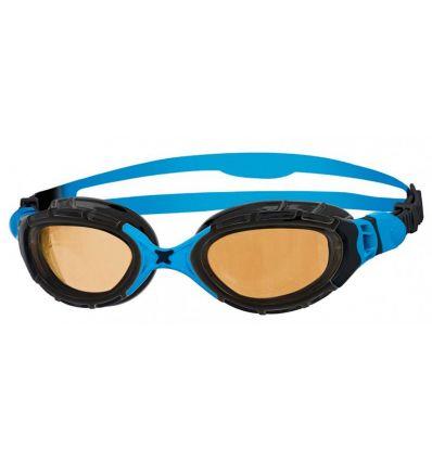 Очки для плавания поляризационные ZOGGS Predator Flex 2.0 Polarized Ultra, голубой