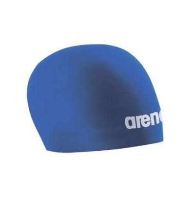 Шапочка для плавания стартовая Arena 3D Race, синий