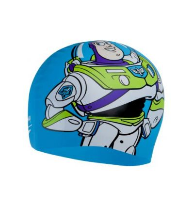 Шапочка для плавания Speedo Adult Disney Slogan Print Cap Buzz Toy Story Blue