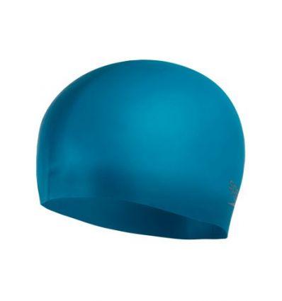 Шапочка для плавания Speedo Adult Plain Moulded Silicone Cap Teal