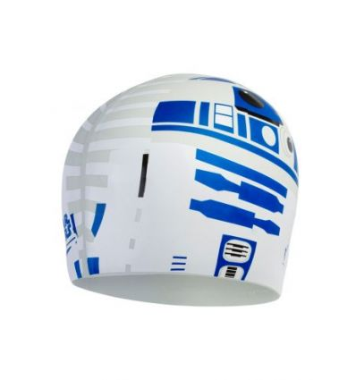 Шапочка для плавания Speedo Star Wars Print Cap R2D2
