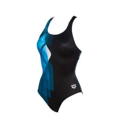 Купальник слитный Arena Mirrors Swim Pro Back LB