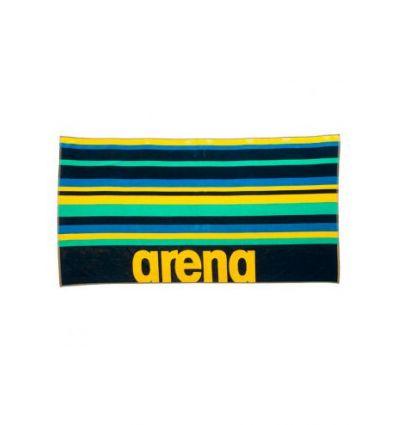 Полотенце хлопковое Arena Beach Multistripes Towel