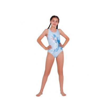 Купальник слитный детский Speedo Junior Disney Frozen 2 Elsa Splashback Swimsuit
