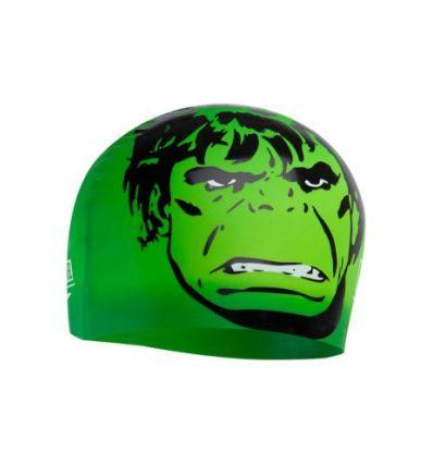 Шапочка для плавания детская Speedo Marvel Hulk 2 Junior Slogan Print Cap