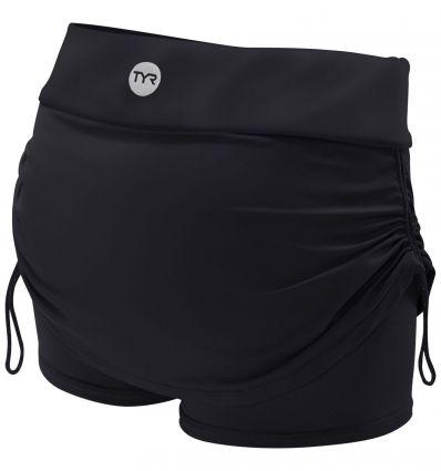 Юбка-шорты TYR Solid Della Skort