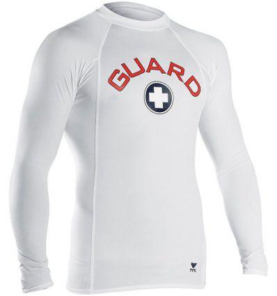 Футболка с длинным рукавом TYR Men's Guard Element Shirt