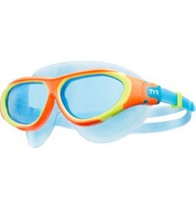 Маска для плавания детская TYR Junior Flex Frame Swim Mask