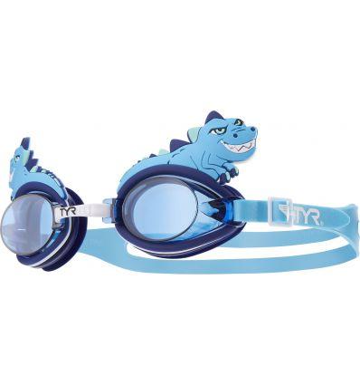 Очки для плавания детский TYR Charactyrs Dino Destroyer