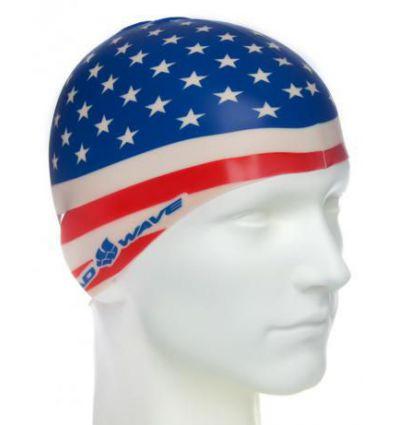 Силиконовая шапочка для плавания USA