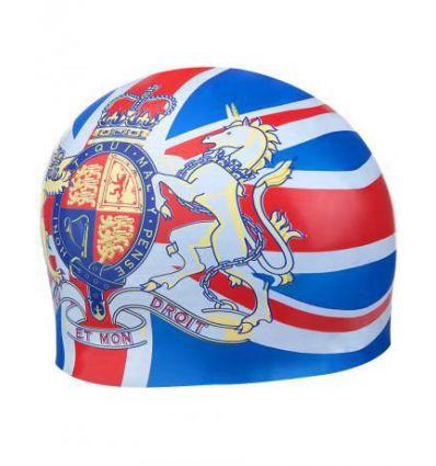 Силиконовая шапочка для плавания ENGLAND