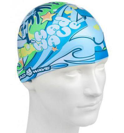 Силиконовая шапочка для плавания ALIEN