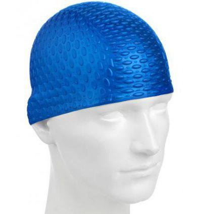 Силиконовая шапочка для плавания Silicone Bubble