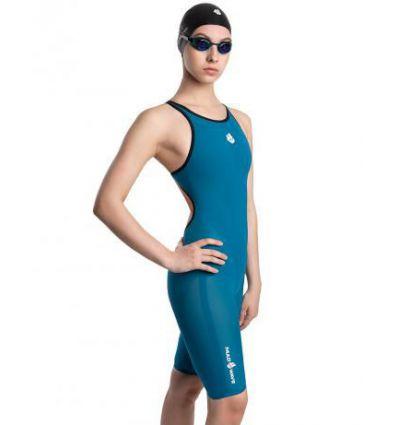 Женский гидрокостюм для плавания Forceshell Women full back