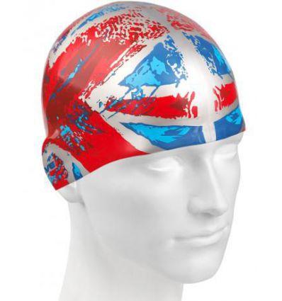 Силиконовая шапочка для плавания UK