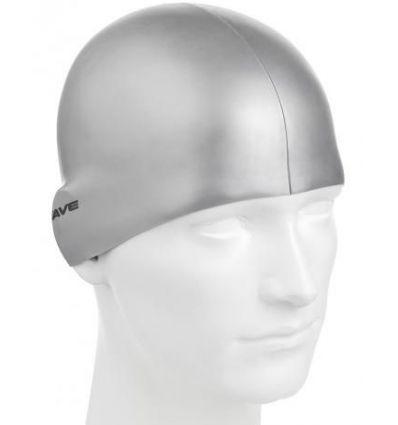 Силиконовая шапочка для плавания Metal Silicone Solid MadWave