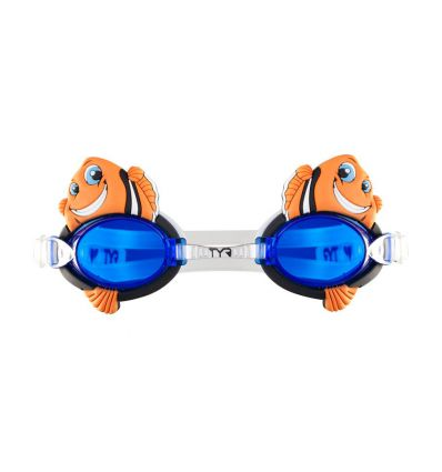 Очки для плавания TYR Charactyrs Happy Fish