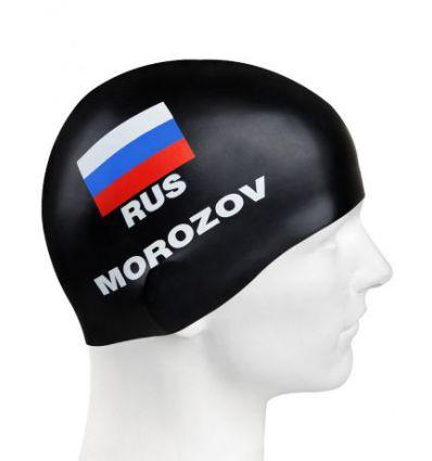Силиконовая шапочка для плавания MOROZOV
