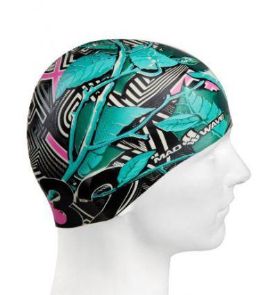 Силиконовая шапочка для плавания NATURE