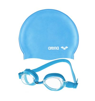 Набор Pool JR Set (очки + шапка)