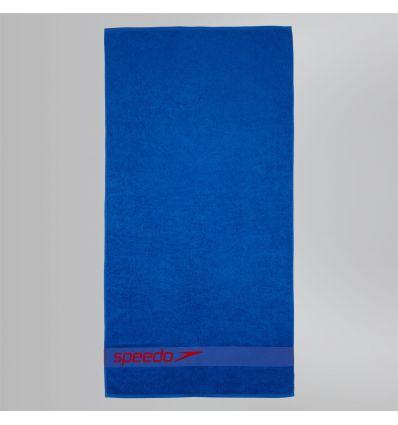 Полотенце SPEEDO Border Towel синее