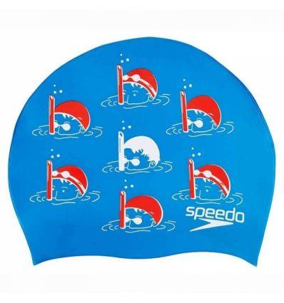 Шапочка Junior Slogan Cap Синяя