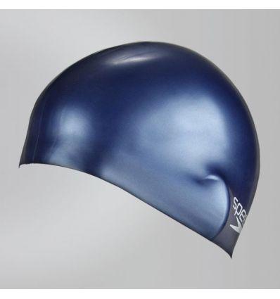 Шапочка Speedo Plain Moulded Silicone Junior Cap Синяя