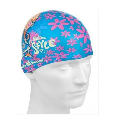 Mad Wave Шапочка детская Silicone Printed Junior GIRL