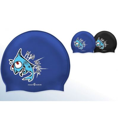 Mad Wave Шапочка Hungry Fish Junior Printed Silicone